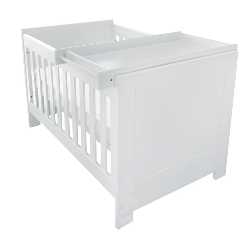 White Cot Beautiful Convertible Baby Nursery Furniture Online