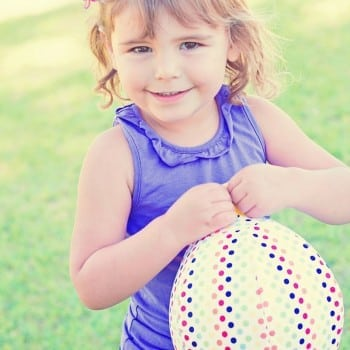 balloon ball is a fabric cover protecting the balloon and your child