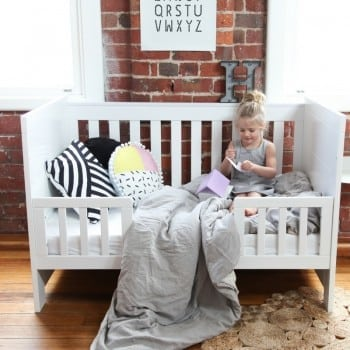 cot bed for easy transition
