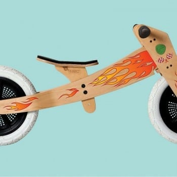flame stickers for wishbone trike.