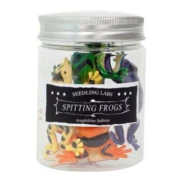 plastic frogs can be used for water play, small world adventures, fine motor skills and pretend play