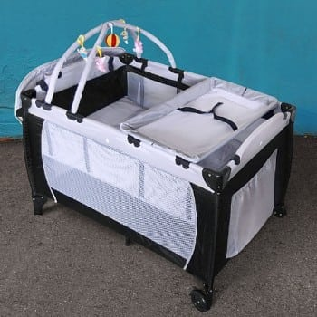 portable cot that you can take with you when you travel and know you have all the necessities and comforts of home