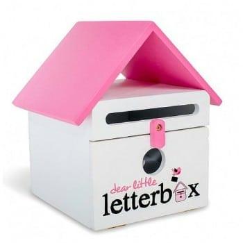 dear little letterbox pink helps with literacy