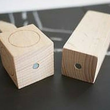 machi london wooden blocks are magnetic