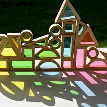 window blocks make absolutely beautiful toys and can be used for so many magical learning experiences