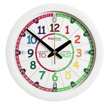 easy read time teacher is the perfect clock for learning to read the time