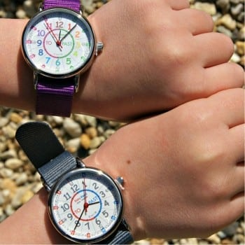 easy read time teacher watch is an ideal gift for those starting school