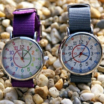 kids watch that helps children to grasp the tricky concept of time