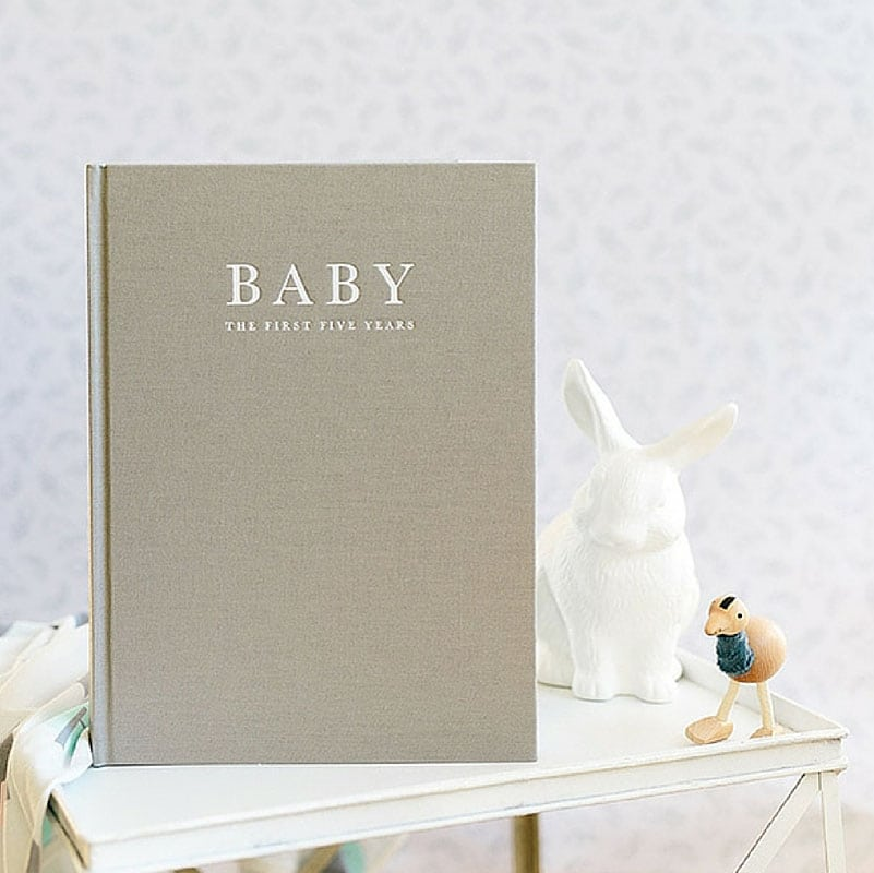 Personalised Baby Christmas Book