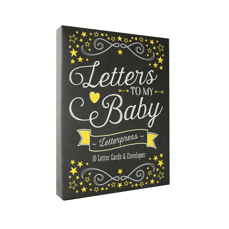 Intelligent Letters To My Daughter Keepsake Baby