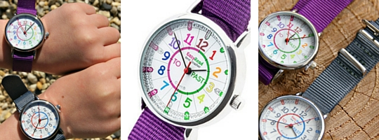 Time teacher watch - a watch to teach kids to tell the time