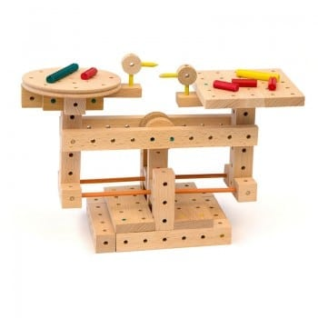 wooden construction toys are so much fun with Matado