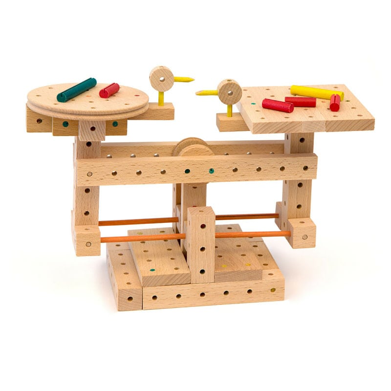 Building Construction Toys : Educational toys matador wooden building blocks online aust