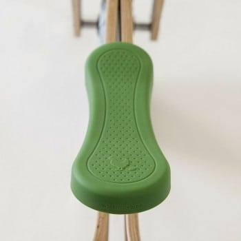 wishbone bike seat cover in green