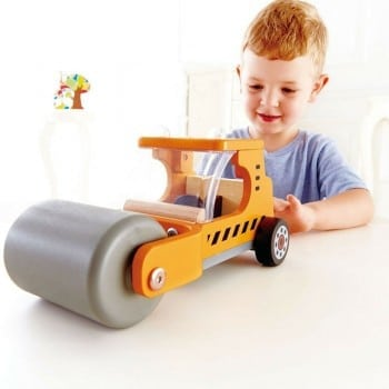 steam n roll hape is a great construction vehicle for your avid builder