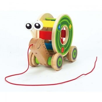 hape pull along shape sorter for your little explorer