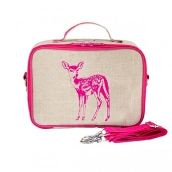 insulated lunch bag from so young that you aesthetically pleasing and easy to clean.