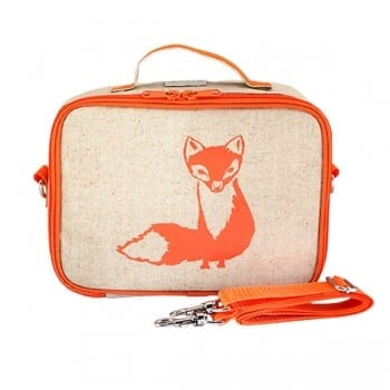 insulated lunch box so young fox is sweet and practical
