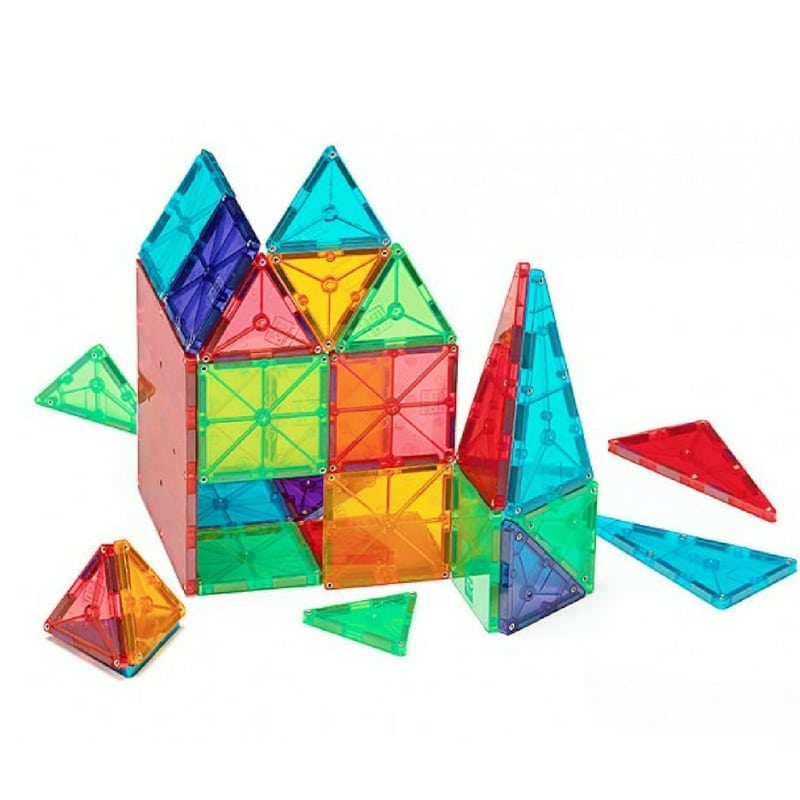 Toys Magnetic Tiles : Magna tiles magnetic building block toys and