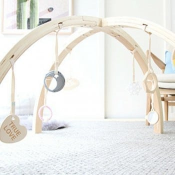 baby activity gym by bella buttercup