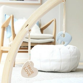 baby activity gym bella buttercup doubles as an educational toy and decor piece