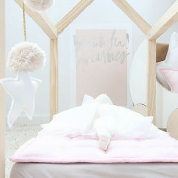 bella buttercup doll bed is gorgeous and matches your home's decor