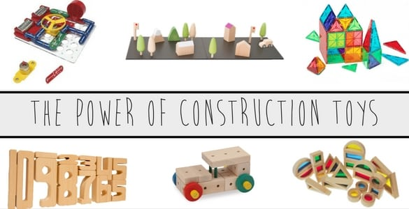 Benefits Of Building Toys : The power of construction toys in learning are there