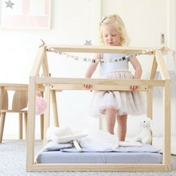 doll bed by bella buttercup is a beautiful little place for all your loved one's friends to sleep