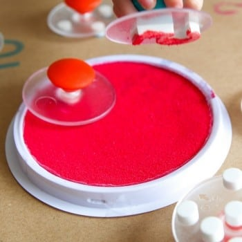 paint pad available in several colours