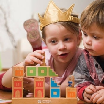 camelot jr is a cool wooden logical puzzle for kids and adults to enjoy