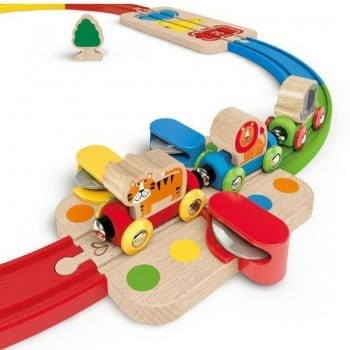 hape musical train is a fabulous set for toddlers