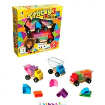 smart games trucky 3 is the perfect spatial awareness game for kids