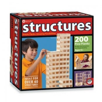 keva wooden building blocks