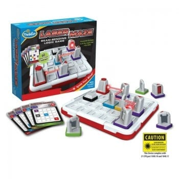 laser maze game thinkfun a logic puzzle for the whole family to enjoy