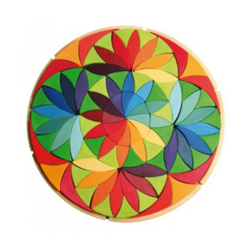 grimms flower puzzle large can be used to create several play experiences and make block play exciting