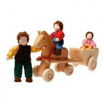 horse with wheels grimms is an ideal pretend play gift