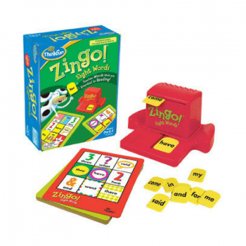 sight words are learnt with fun with Zingo by ThinkFun