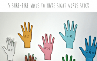 high frequency words or sight words are important for learning to read and write. Check out our sight word games and tricks to help teach them.