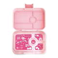 yumbox tapas in pink, green or blue is perfect for lunch for pre teens, teens and adults