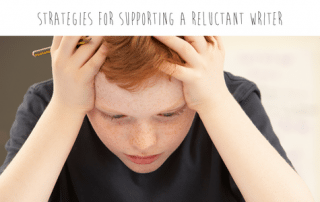 strategies for supporting a reluctant writer. Inspiring those who find it challenging or boring to write