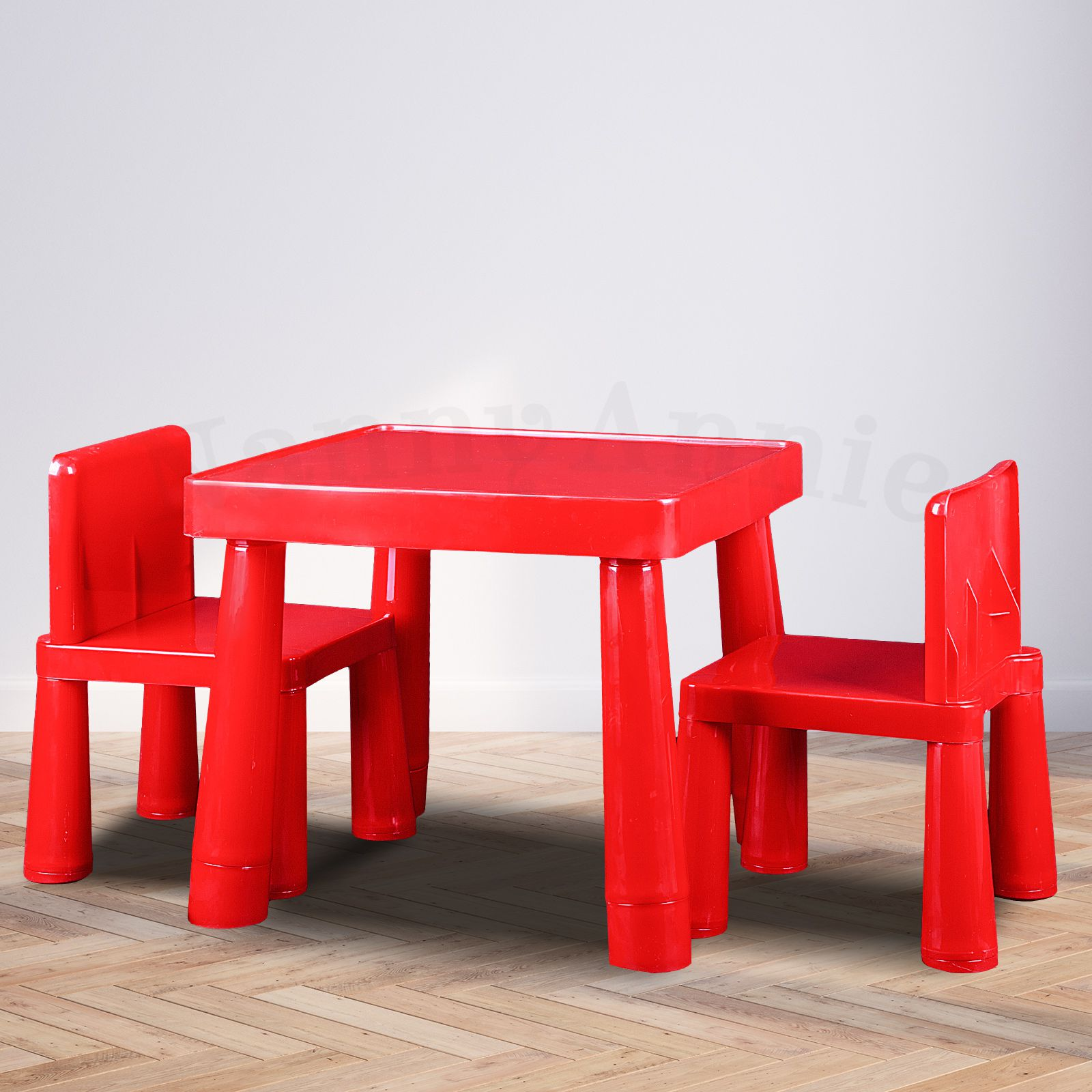 Prime Kids Table Chair Play Furniture Set Plastic Fountain Activity Dining Chairs Red Interior Design Ideas Gresisoteloinfo